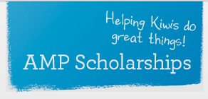 Helping Kiwis do great things! AMP Scholarships