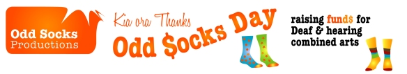 Kia ora Thanks Odd $ocks Day
