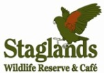 Logo for Staglands Wildlife Reserve & Cafe