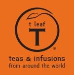 t leaf logo
