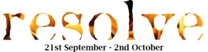 Resolve at BATS 21 Sept - 2 Oct